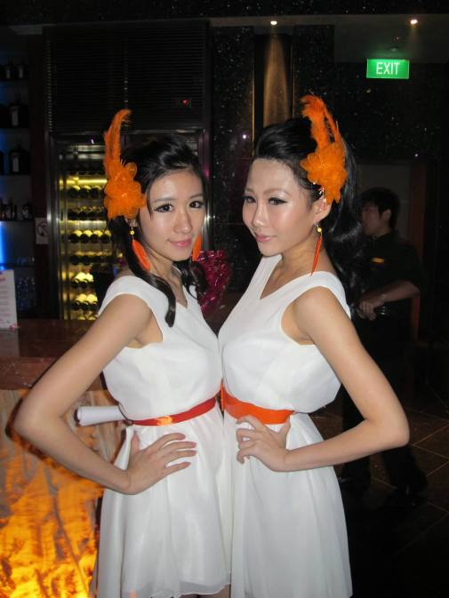 Singaporean Cointreau promoter girls