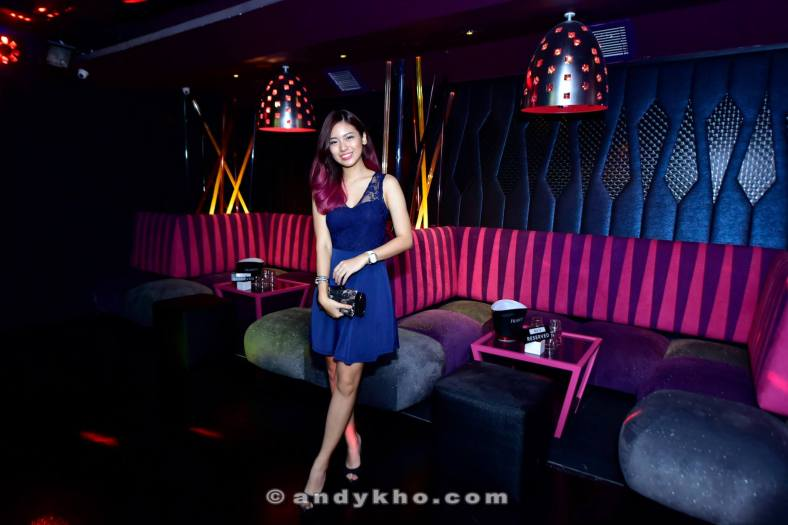 Sofas and tables line the walls of Zouk Mainroom