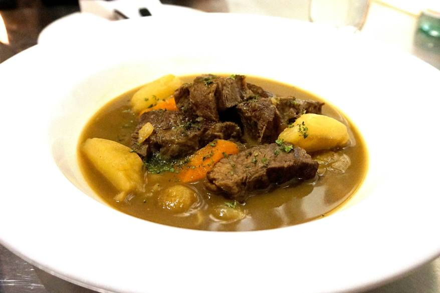 Pot au feu - slow cooked beef in light vegetable broth - RM43.00