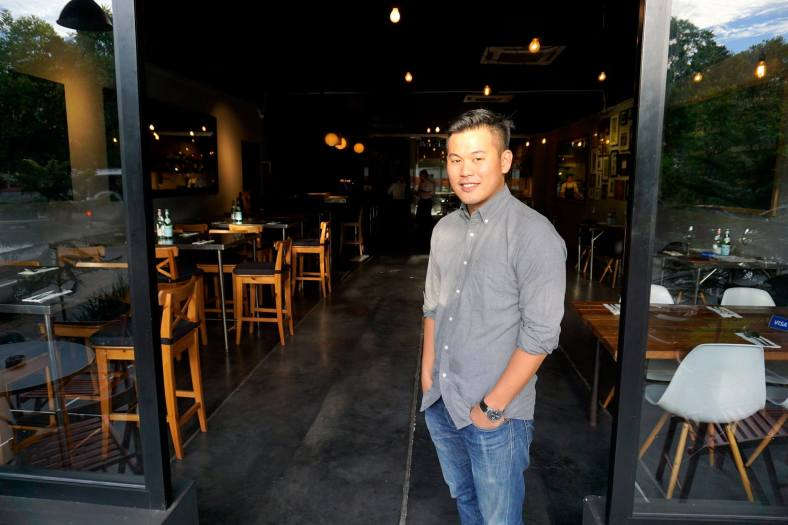 Owner of Topshelf - Chris honed his culinary skills working in a top hotel in London before deciding to return to Malaysia