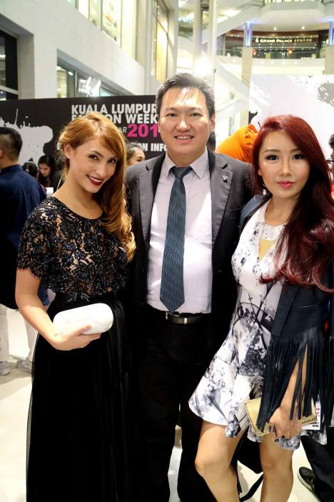 With Patricia K and Michelle Lee