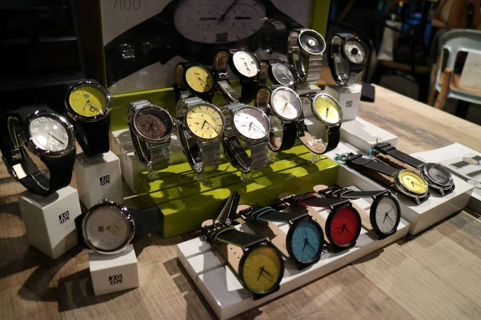 The latest collection of ZOOM timepieces