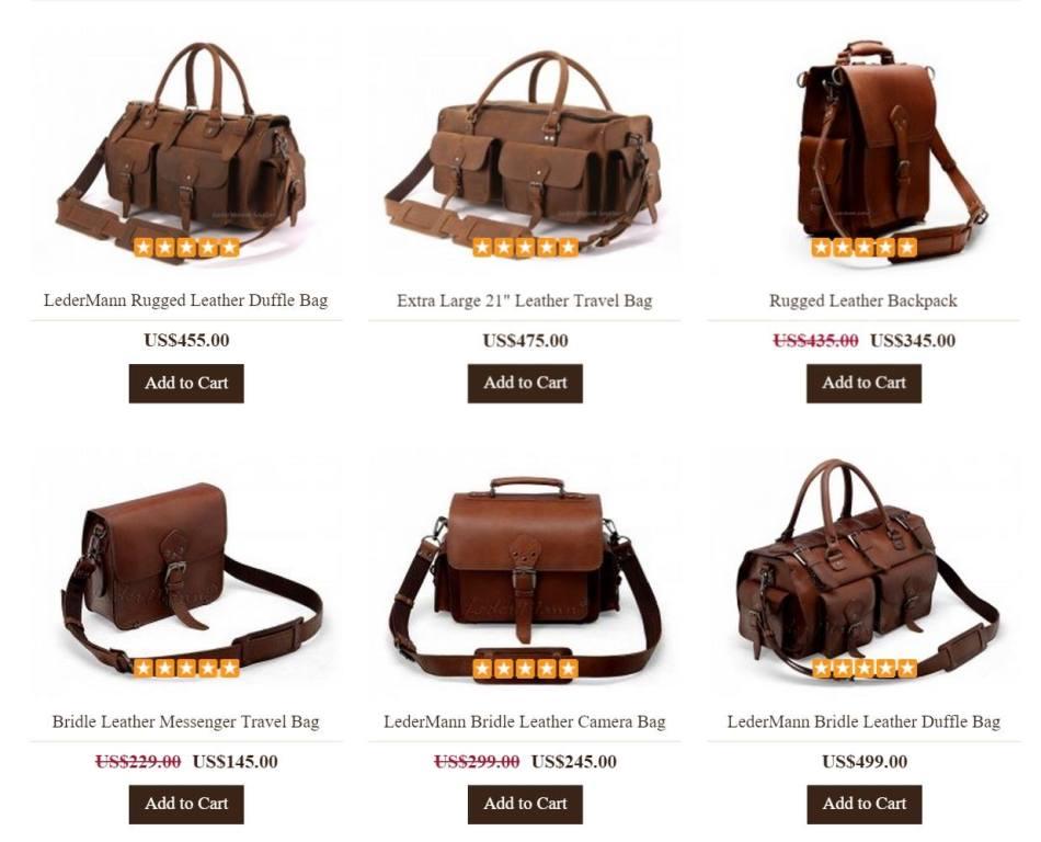 Duffle/ Travel Bags