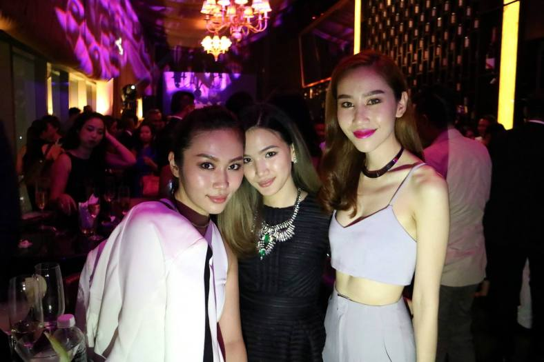 L'oreal Mok, Stephanie Lim and Evelyn Marieta