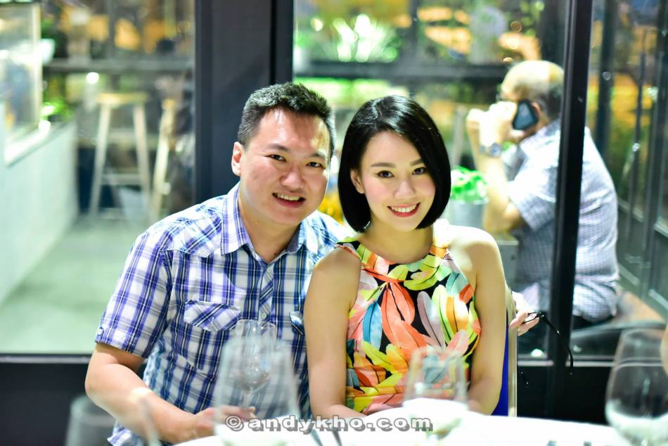 With model and MC Stephinie Tan