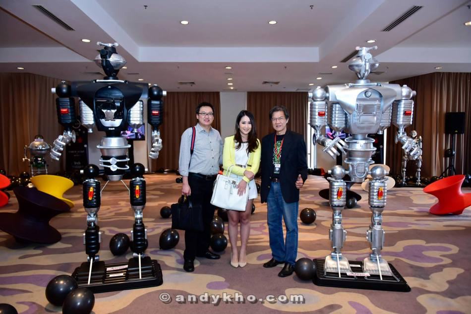 There was also a display of robots made out of recycled materials such as plastic water bottles, etc. etc.