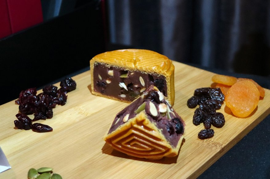 Blueberry Lotus with Dried Fruits & Assorted Seeds