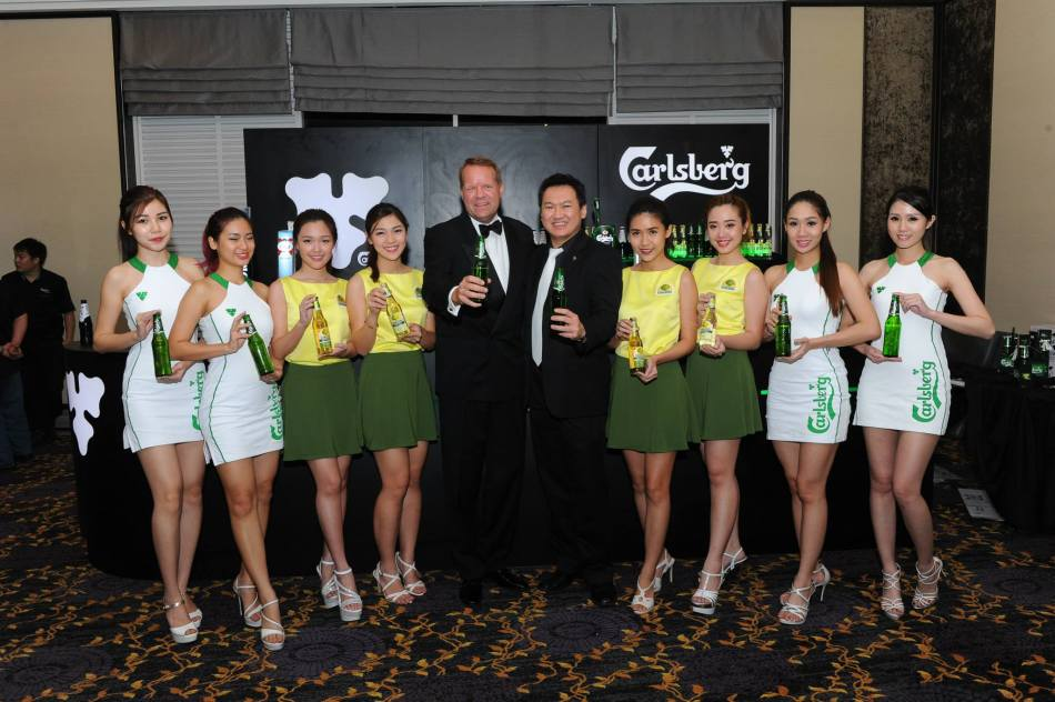 I was very happy to see my very first client - Carlsberg, and their portfolio brand Somersby bag awards!
