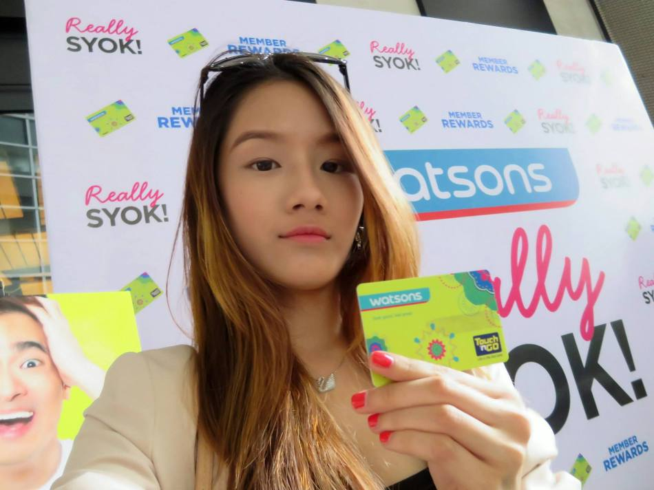 The Watsons members card is also a Touch