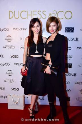 Linda Chen and her friend