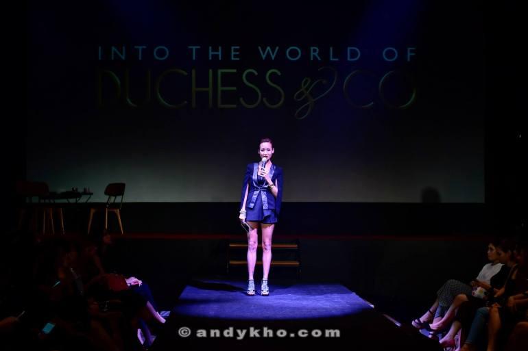 Joyce aka Kinky Blue Fairy was the host of the event