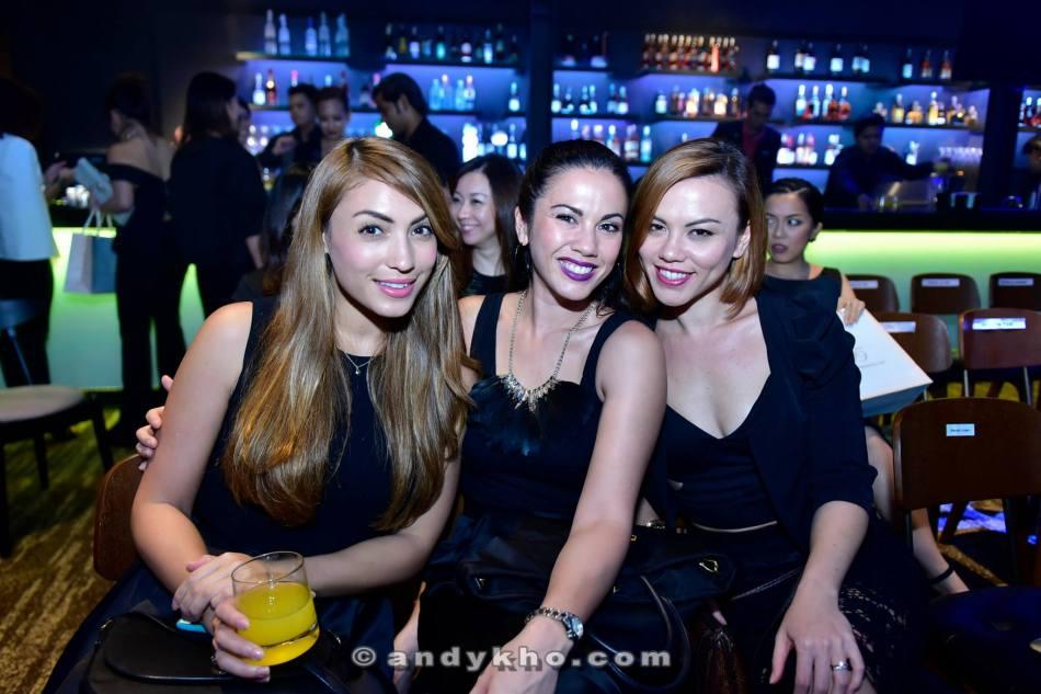 Patricia K with Vanessa and Pamela Chong aka the Chong sisters