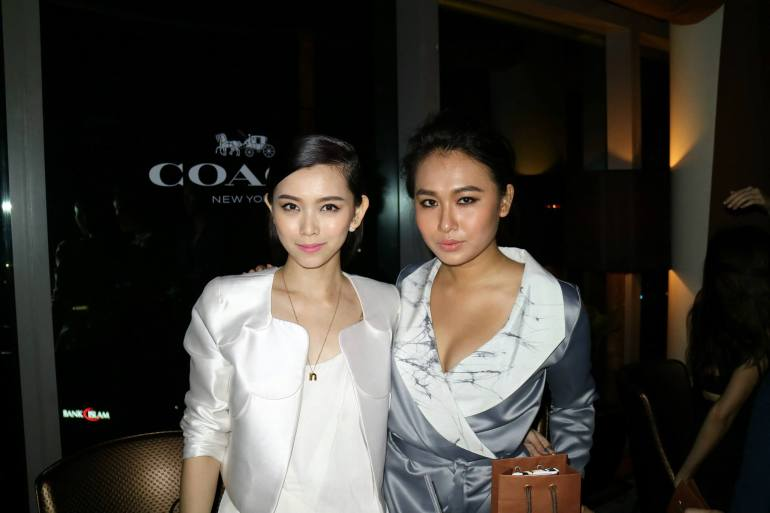 Fox Sports' Natalia Ng with Fly FM DJ Magdeline Wang