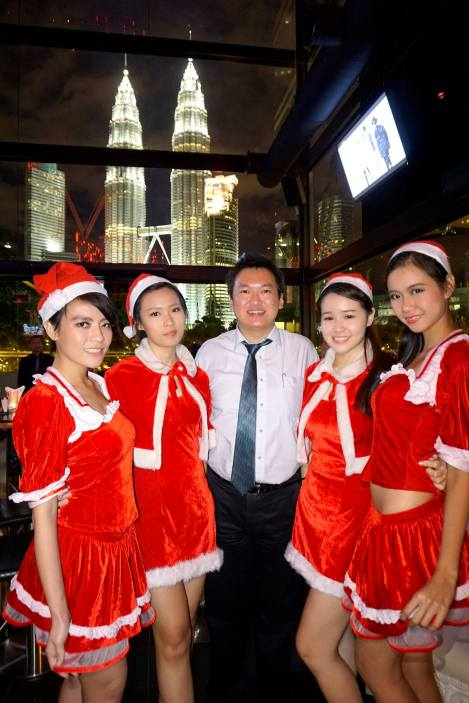 As was I with the pretty Santarinas!