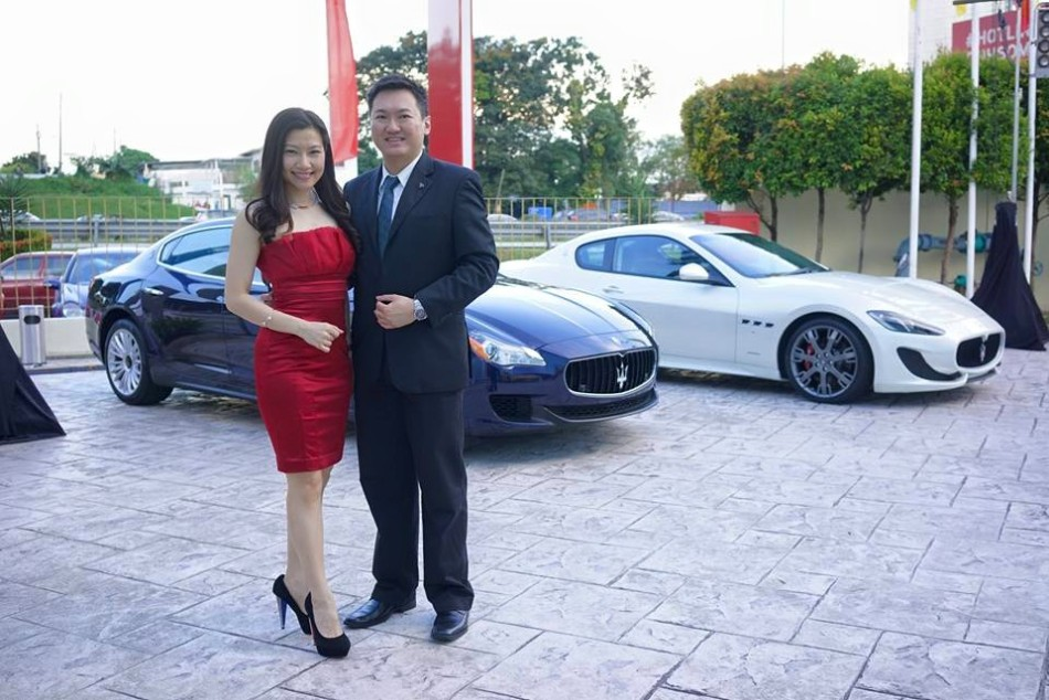 Attending exclusive supercar cocktail parties