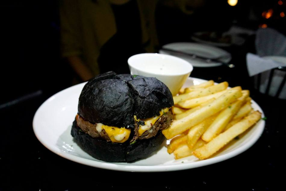 Angus Beef Sliders, served with French fries - RM48.00