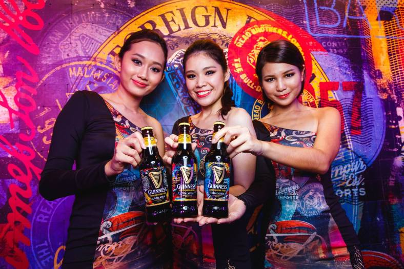 The three (3) limited edition Guinness designs