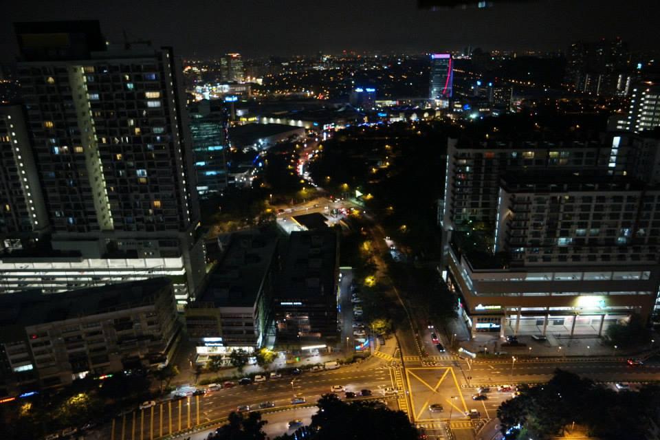 While Stephanie's room had a view of Dmansara Perdana and Mutiara Damansara