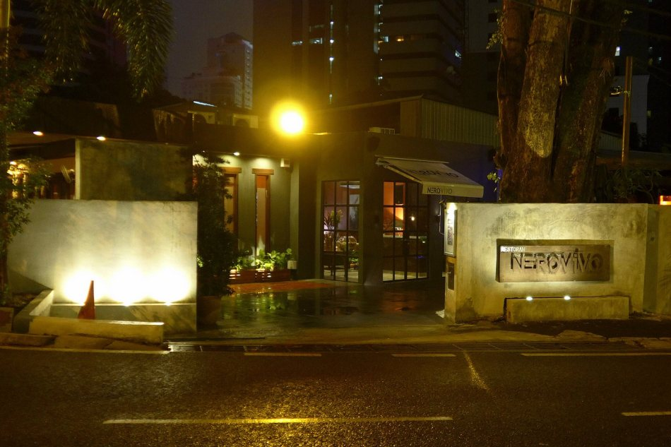 Nerovivo is located along Jalan Ceylon which is up the road from busy Changkat Bukit Bintang