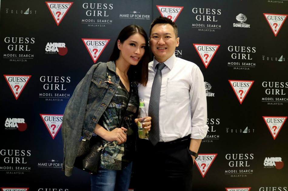 Hanging out with Amber Chia at fashion events