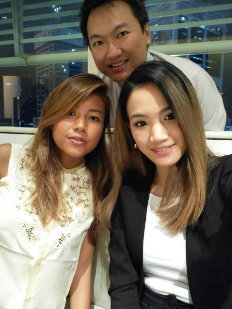 Stephanie Lim and I with Hannah Reyes