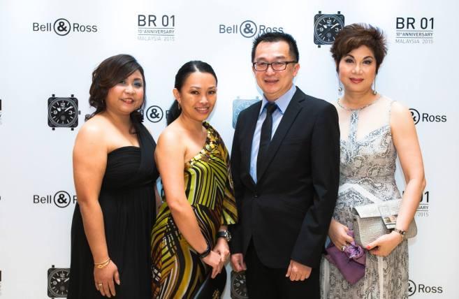 Ms Jenny Ng, Ms Laily Tang, Mr Chocky Ng and Datin Teo