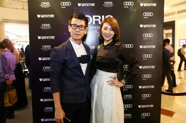Designer Key Ng with artiste Jan Chin