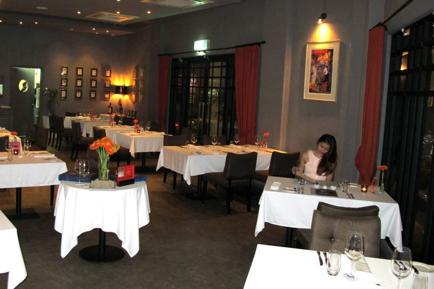 The restaurant layout is split into two floors with the ground floor catering comfortably for up to 45 persons.