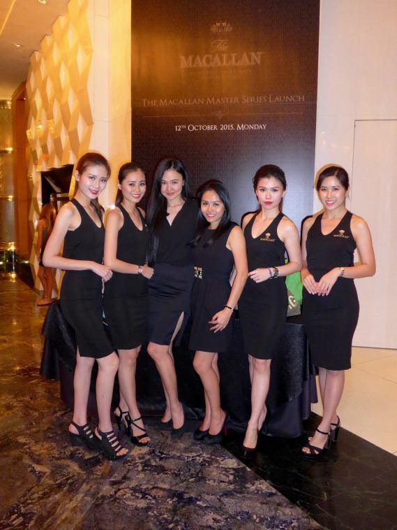 Macallan girls promoters