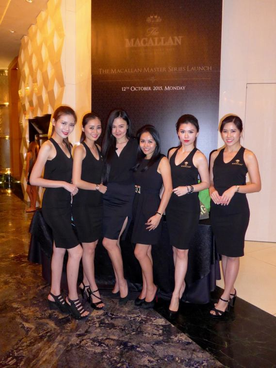 Macallan girls promoters