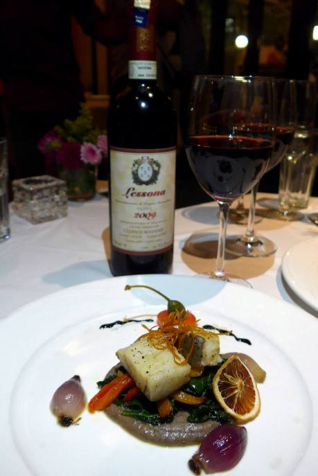 Paired with Lessona 2009 Massimo Clerico
