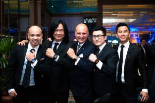 Mr Ernie Tang, Mr Tong Chee Wei, Mr Carlos Rosillo, Mr Kent Ong, Mr Andy Lim