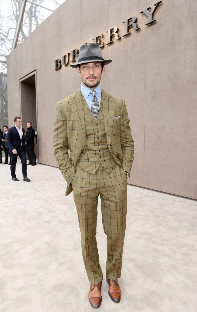 English model David Gandy