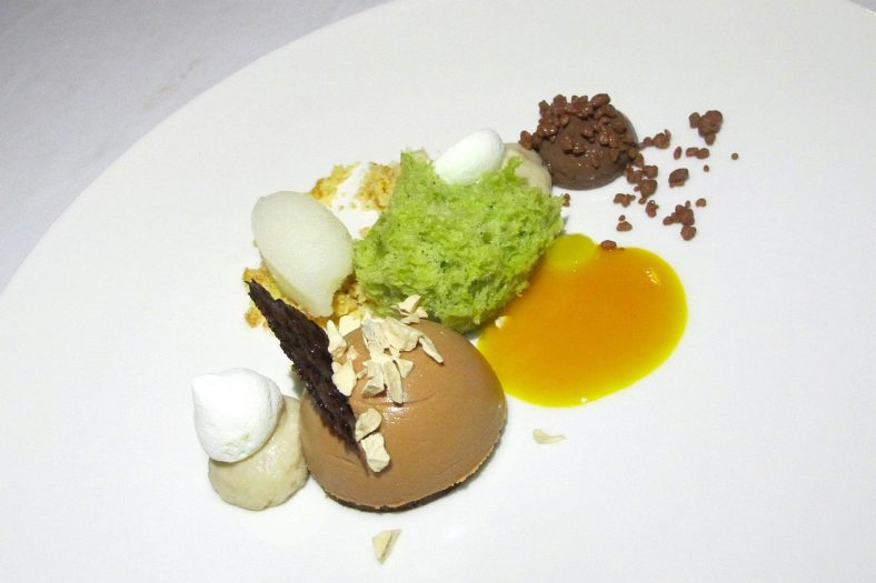 Dessert - Banana, Caramel, Chocolate, and Bergamot