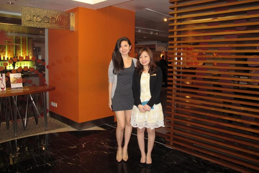 Ruby with Moon from Hotel Istana's PR Department