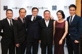Mr Peter Tey, Mr Lim Kim Ming, Mr & Mrs Raymond Chu, Mr Jowy Kong