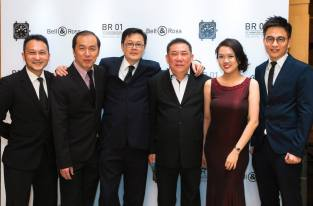 Mr Peter Tey, Mr Lim Kim Ming, Mr & Mrs Raymond Chu, Mr Jowy Kong