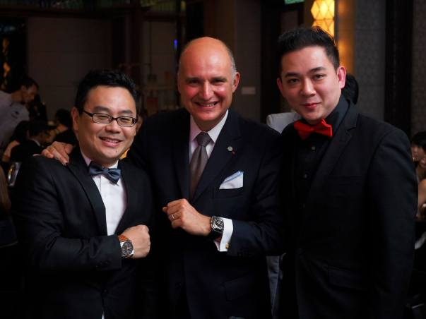 Mr Jason Tham, Mr Carlos Rosillo, Mr Trey Ooi