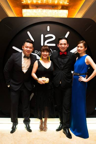 Mr Jefferey Wong, Ms Lim Zilling, Mr Trey Ooi, Ms Violet Tan