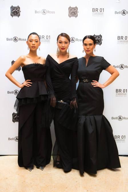 Shir Chong, Debbie Goh and Elaine Daly