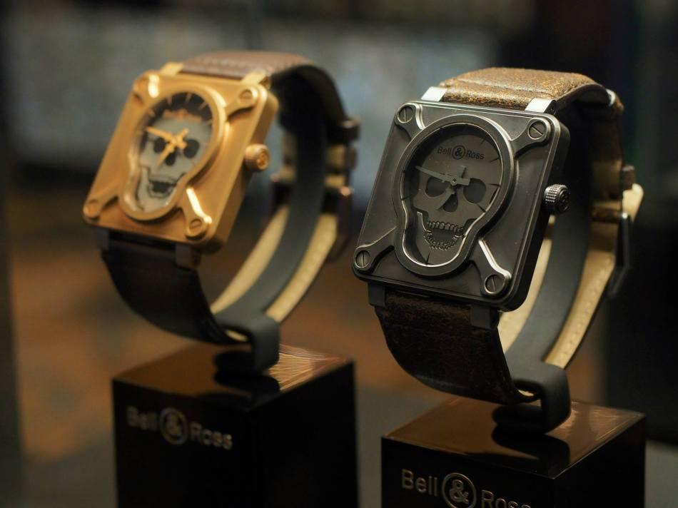 Bell & Ross BR01 Skull