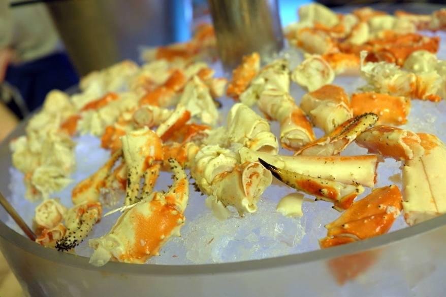 Luckily for us it was Alaskan King Crab season!
