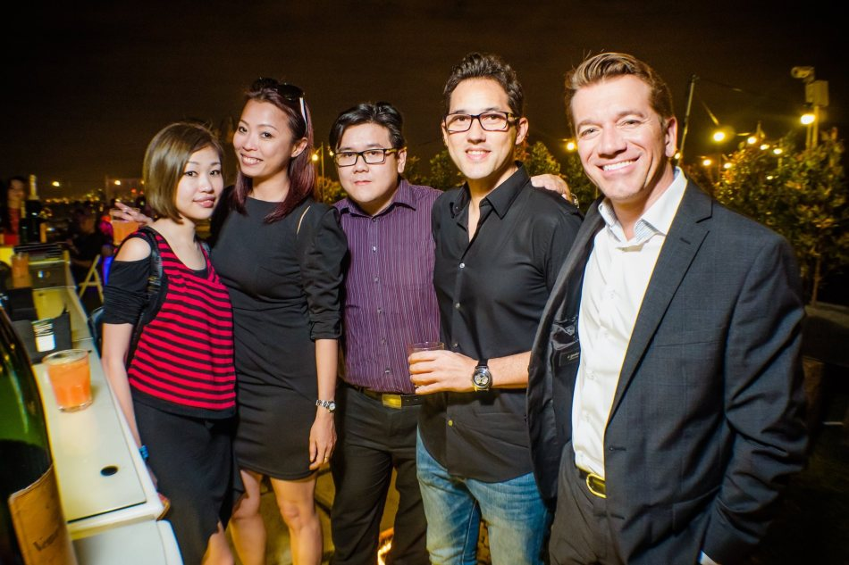 The team from Moet Hennessy Diageo Malaysia including Managing Director Mathieu Musnier (right)