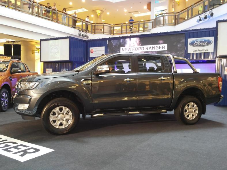 At the launch of the new Ford Ranger at One Utama