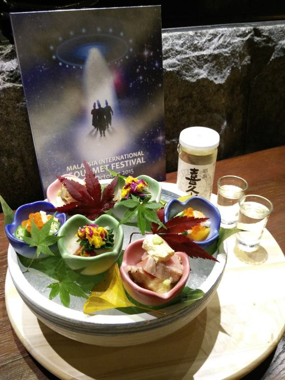 At Minori Japanese Restaurant at The Curve