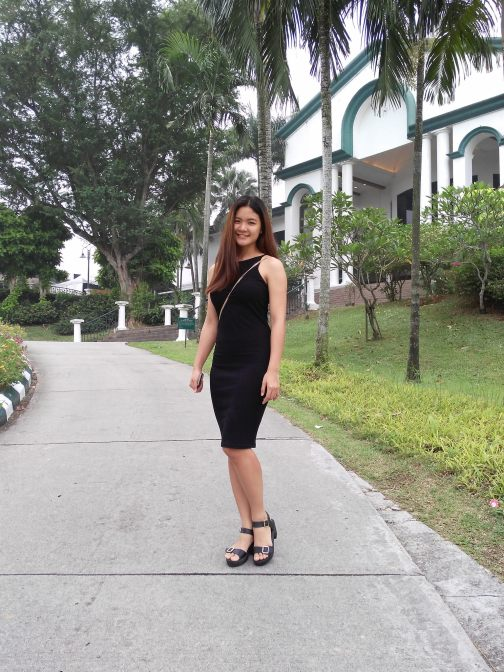 A shot of Sue Sien at the Tropicana Golf & Country Resort clubhouse