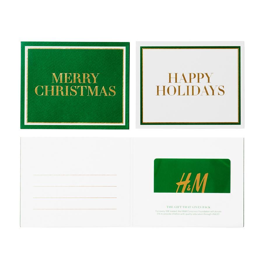 h und m giftcard