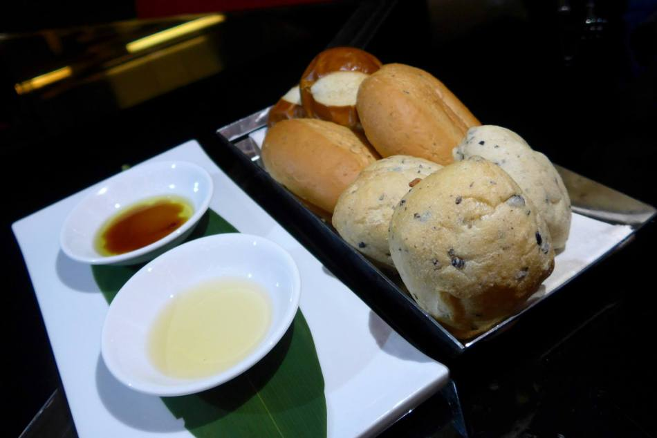 Some lovely house made breads and dips to start the meal