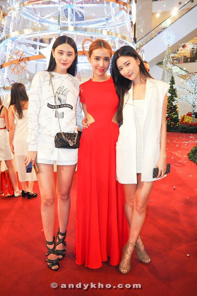 Juwei Teoh, Venice Min and Junees Teoh