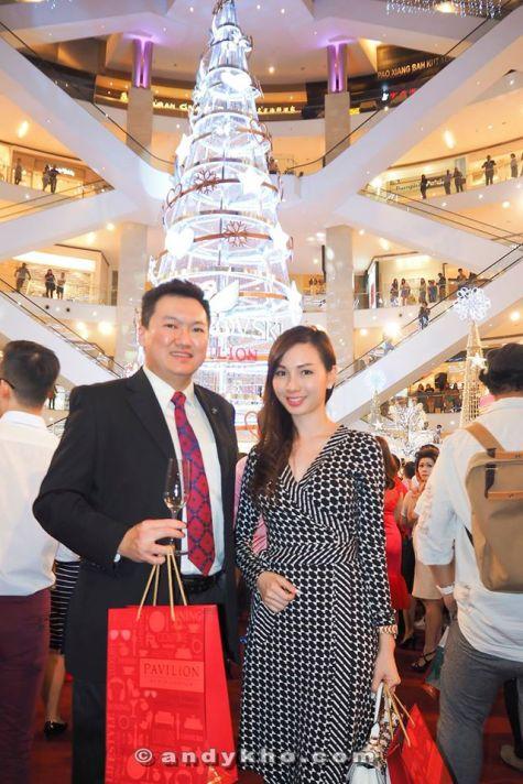 With pretty Linda Chen